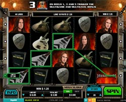 Machine à sous Megadeth