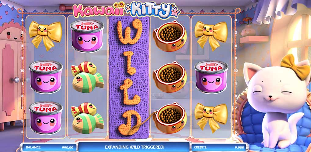 Kawaii Kitty de Betsoft