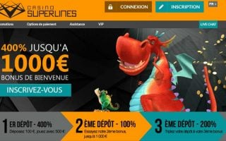 Avis Casino Superlines