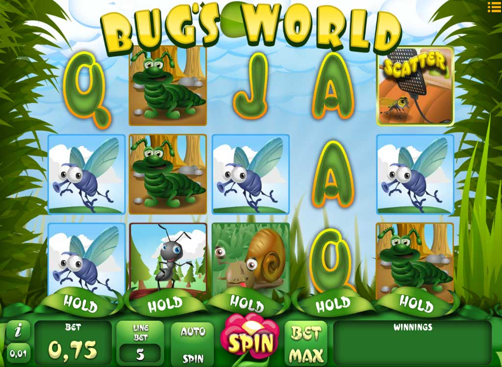 Jouer à Bug's World