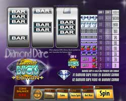 Machine à sous Diamond Dare Bonus Buck