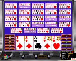 Aperçu Multihand Joker Poker