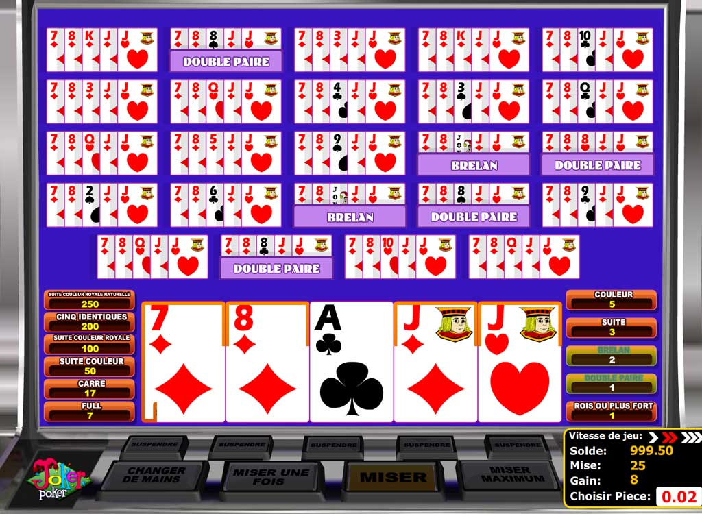 Jouer à Multihand Joker Poker