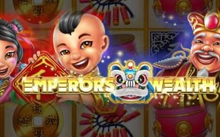 50 free spins disponibles sur le jeu du moment « Emperor's Wealth »