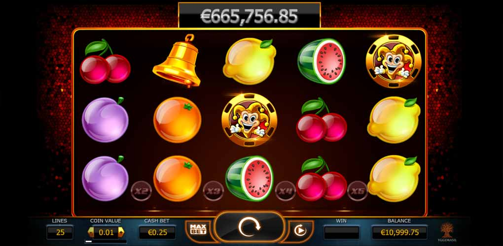 Machine à sous Joker Millions d'Yggdrasil Gaming