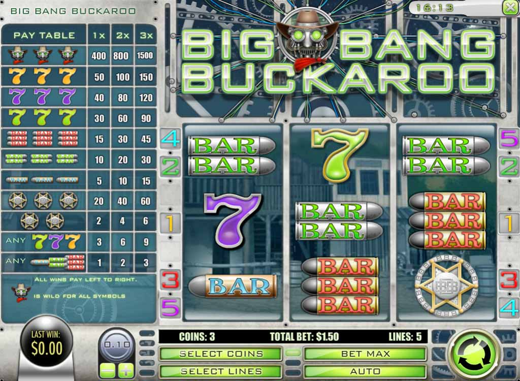 Jouer à Big Bang Buckaroo