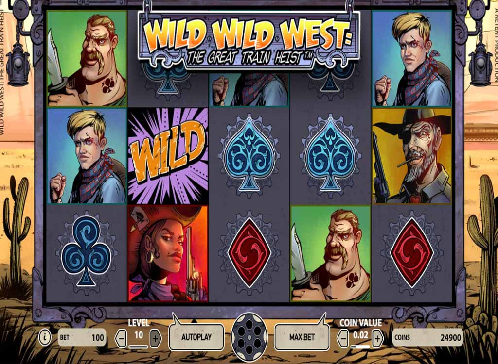 Jouer à Wild Wild West: The Great Train Heist