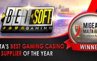 Betsoft Gaming : une reconnaissance de plus au Malta iGaming Excellence Awards 2018