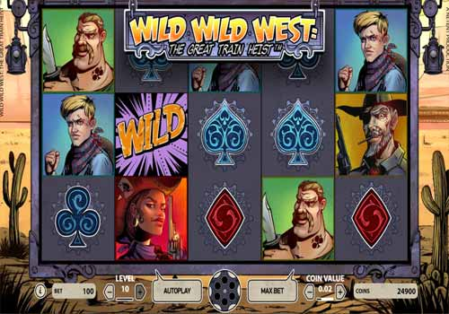 Machine à sous Wild Wild West: The Great Train Heist