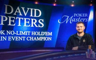 Poker Masters : David Peters gagne le Main Event
