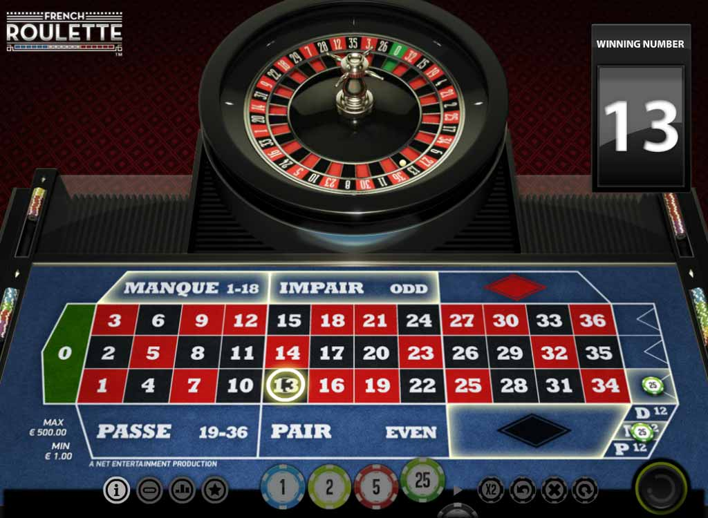 Jouer à The French Roulette