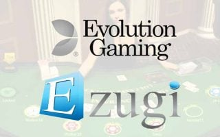 Fusion entre Evolution Gaming et Ezugi