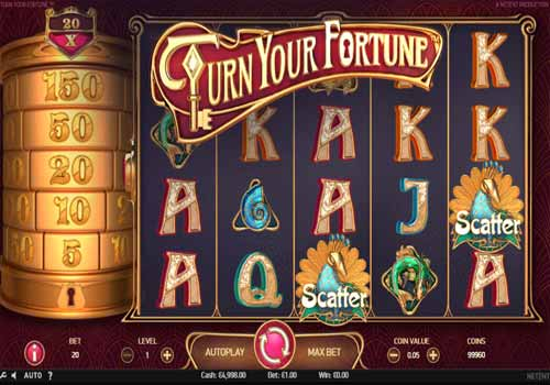 Machine à sous Turn Your Fortune