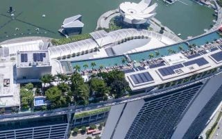 Le Marina Bay Sands à Singapour est devenu le casino le plus rentable de Las Vegas Sands