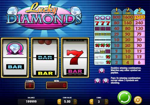 Machine à sous Lucky Diamonds