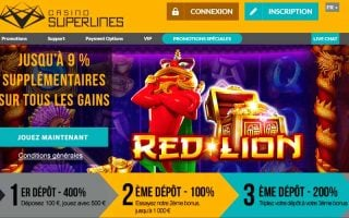 Promotion Casino Superlines