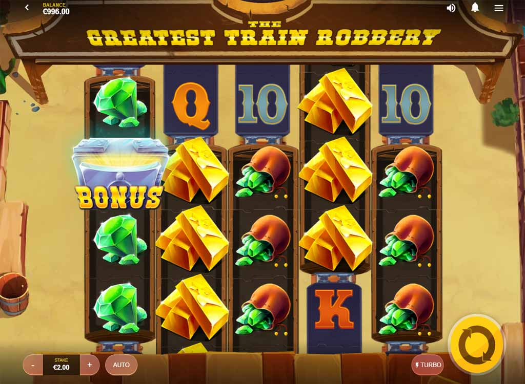 Jouer à The Greatest Train Robbery