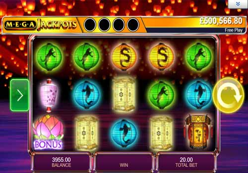 Machine à sous Star Lanterns Mega Jackpots