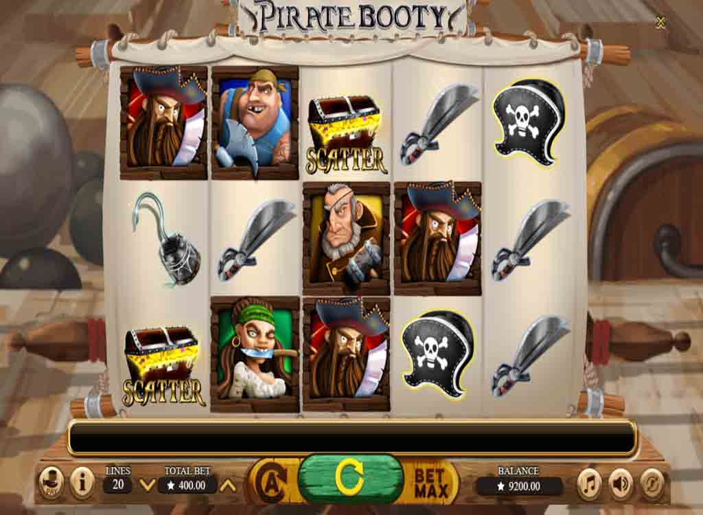 Jouer à Pirate Booty