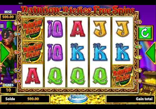 Machine à sous Rainbow Riches Free Spins