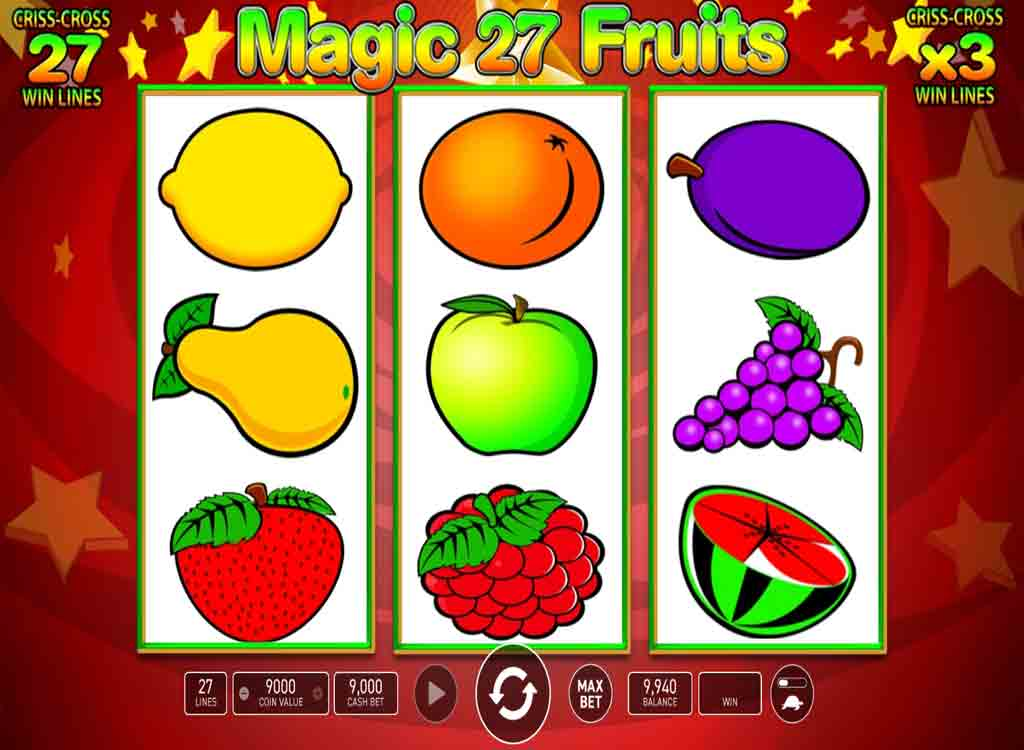 Jouer à Magic Fruits 27