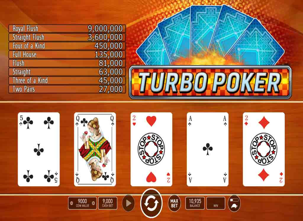 Jouer à Turbo Poker