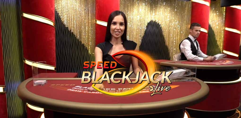 Speed Blackjack Evolution Gaming
