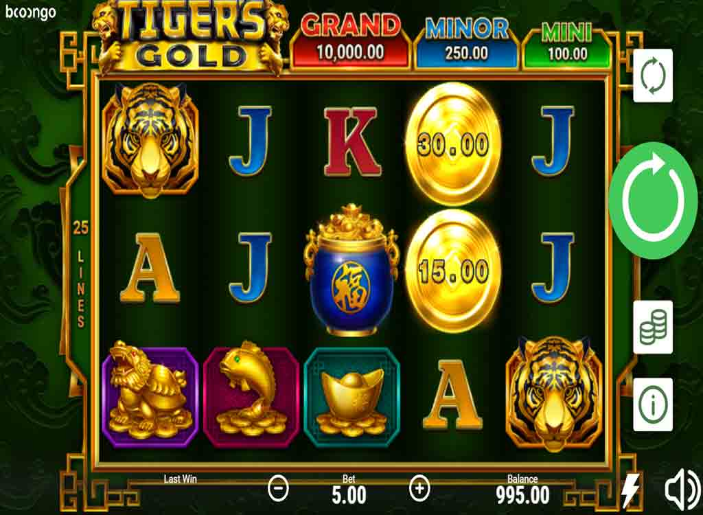 Jouer à Tiger's Gold Hold and Win