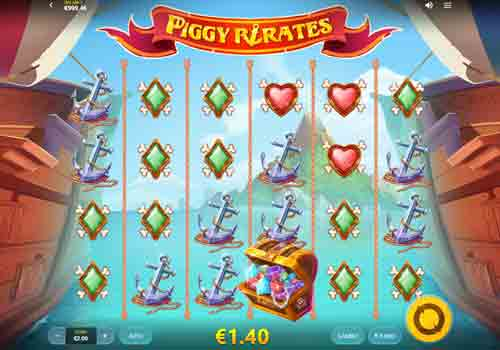 Machine à sous Piggy Pirates