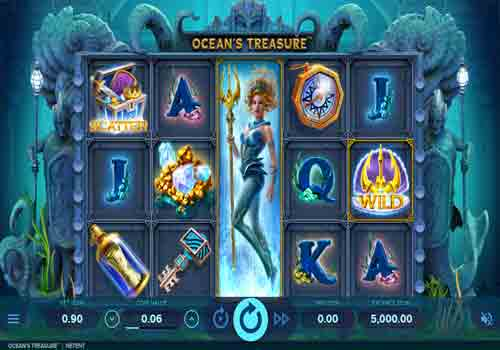 Machine à sous Ocean's Treasure