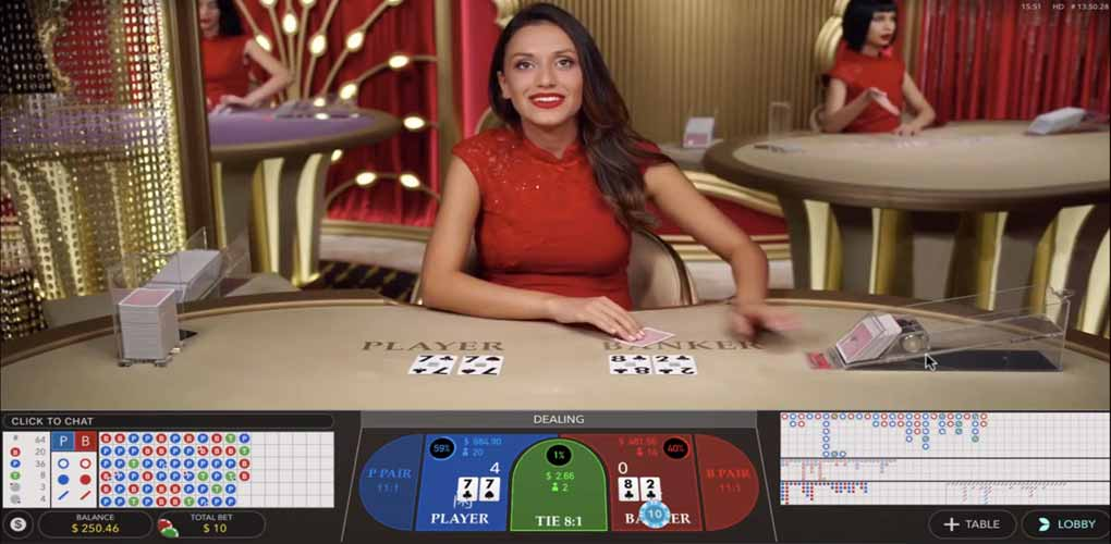 Speed Baccara 270 000 win live game