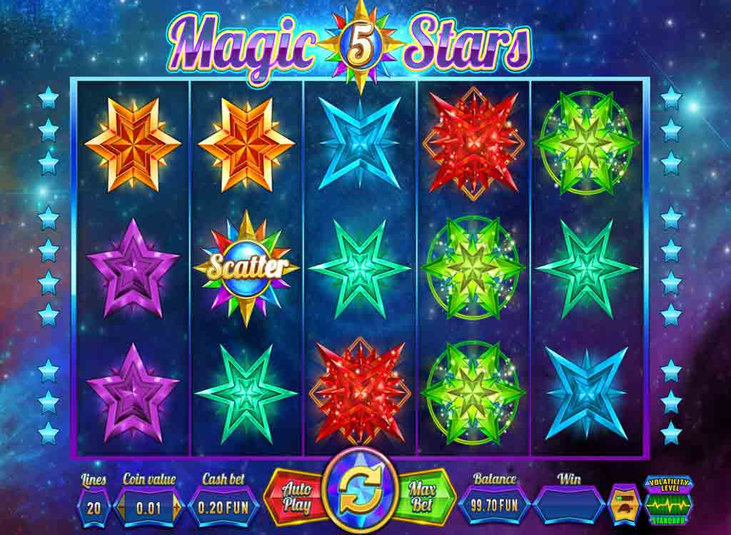 Jouer à Magic Stars 5