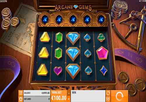 Machine à sous Arcade Gems