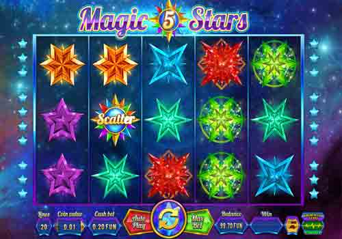 Machine à sous Magic Stars 5