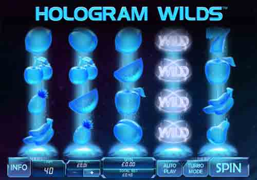 Machine à sous Hologram Wilds