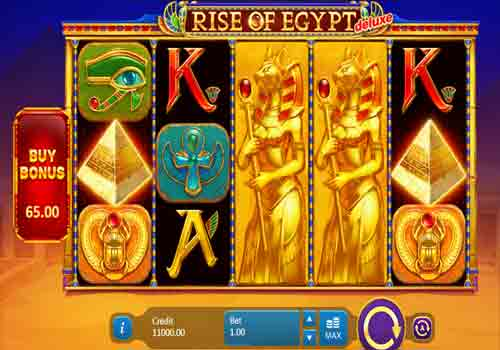 Machine à sous Rise of Egypt Deluxe