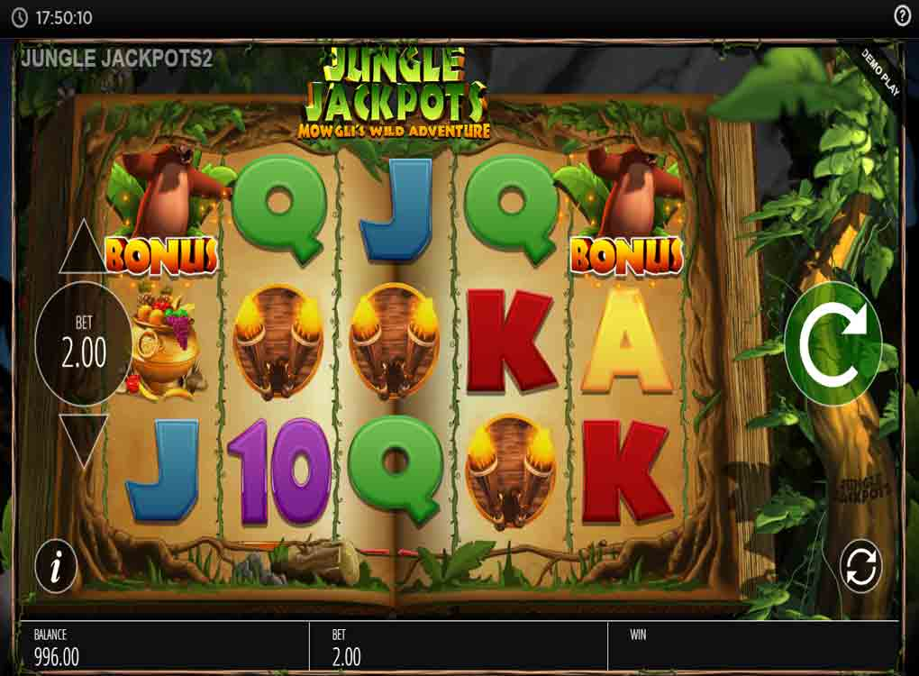 Jouer à Jungle Jackpots Mowgli's Wild Adventure