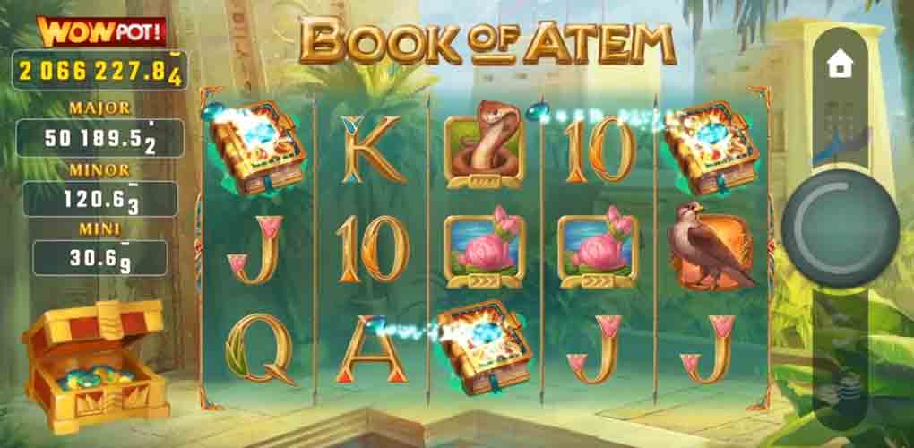 Book of Atem: WowPot Microgaming