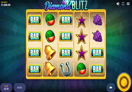 Machine à sous Diamond Blitz