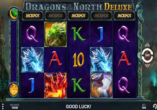 Mesin Slot Dragons of the North Deluxe